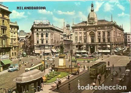 Piazza Cordusio mel 1963. (fonte immagine: web todocoleccion.net)