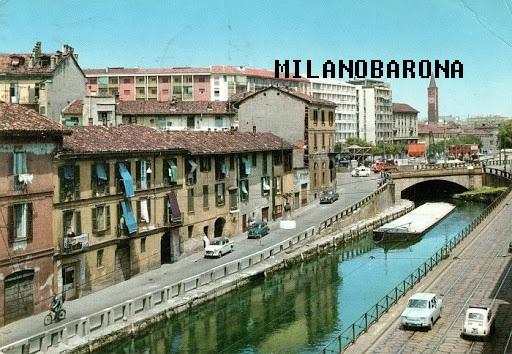 Ripa di Porta Ticinese 1970 circa. (fonte immagine: web studio Orsini bibliografico)
