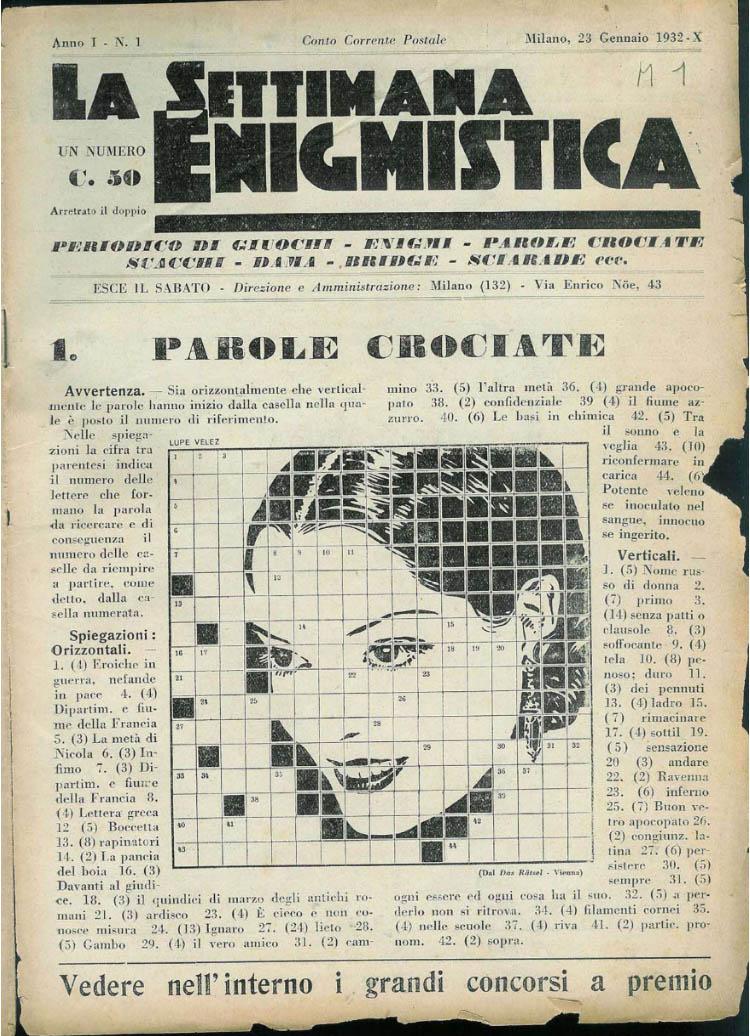 settimana-enigmistica-copertina-primo-numero