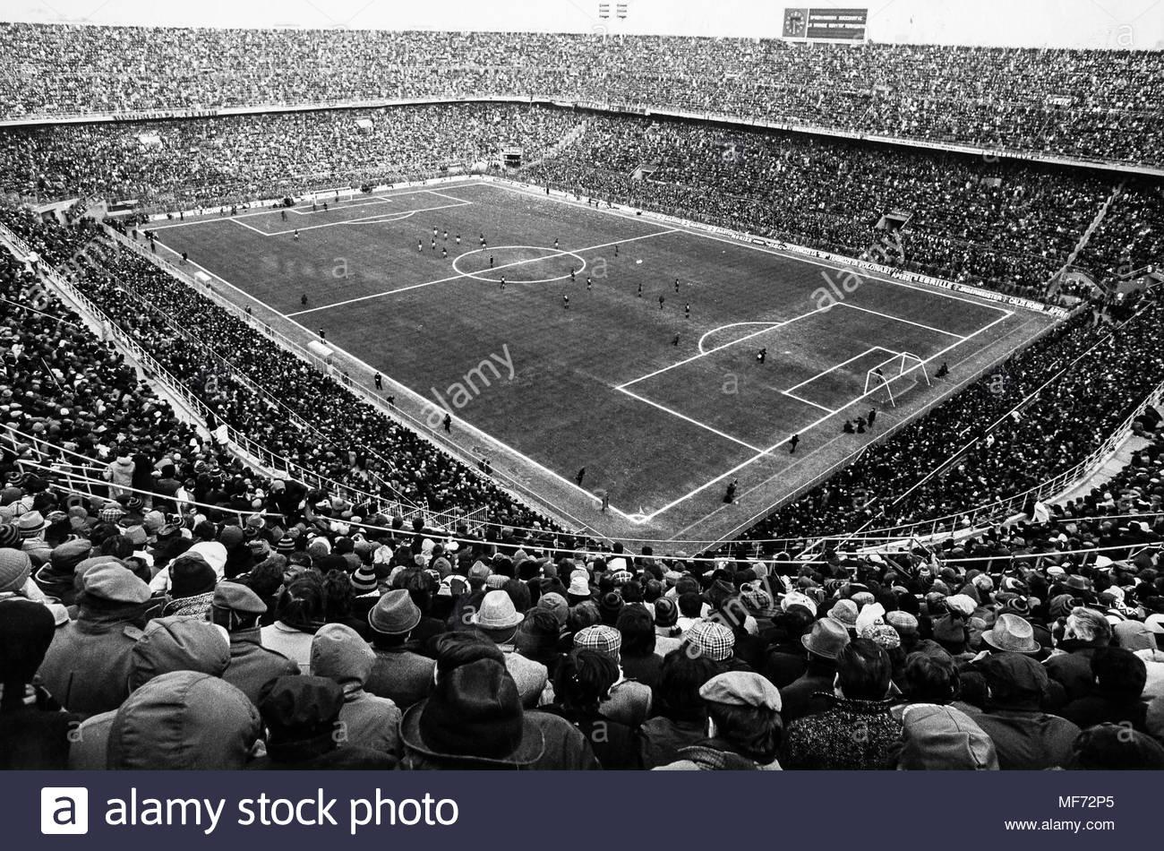 Stadio Meazza, 1970 circa.