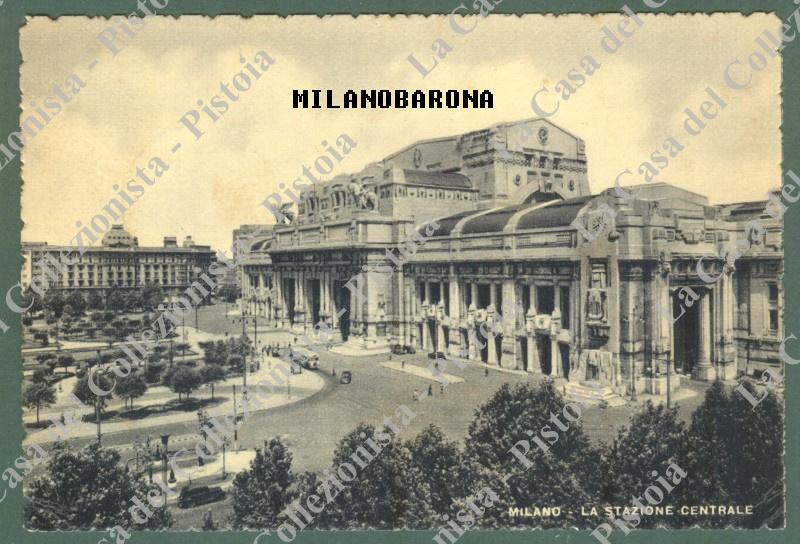 Stazione Centrale, anni '30-'40 del 1900.