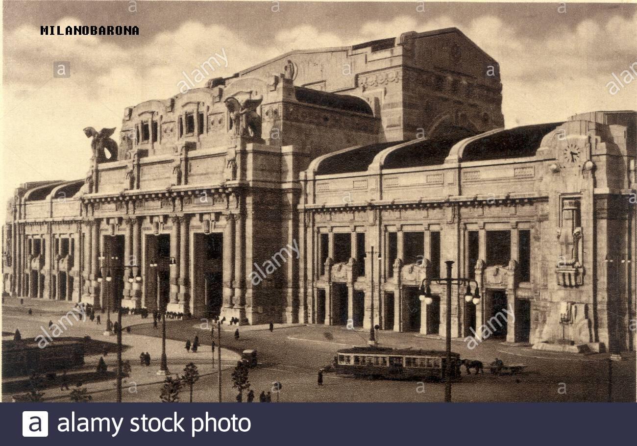 Stazione Centrale anni '30.