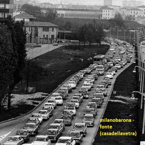 Milano 1963, Portello-Monte Stella-Ghisallo Certosa. Via Alcide de Gasperi.
