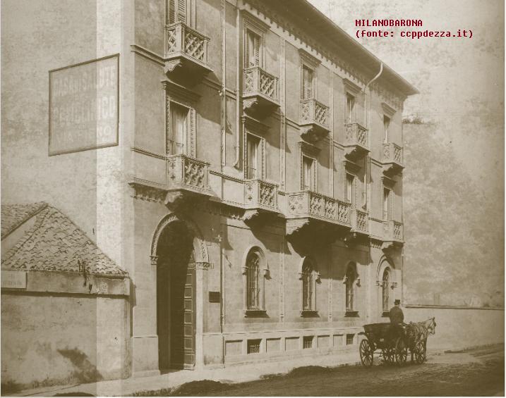 San Vittore 1907-24 circa. Via Ariberto 27. (fonte immagine ccppdezza.it)