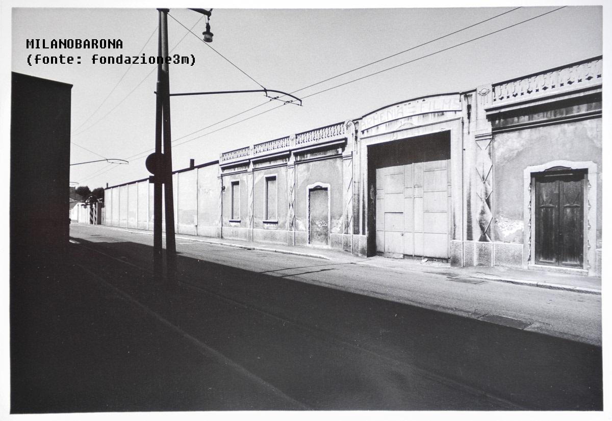 Bovisa 1979 circa, Via Bovisasca. (autore Gabriele Basilico, fonte web fondazione3m)