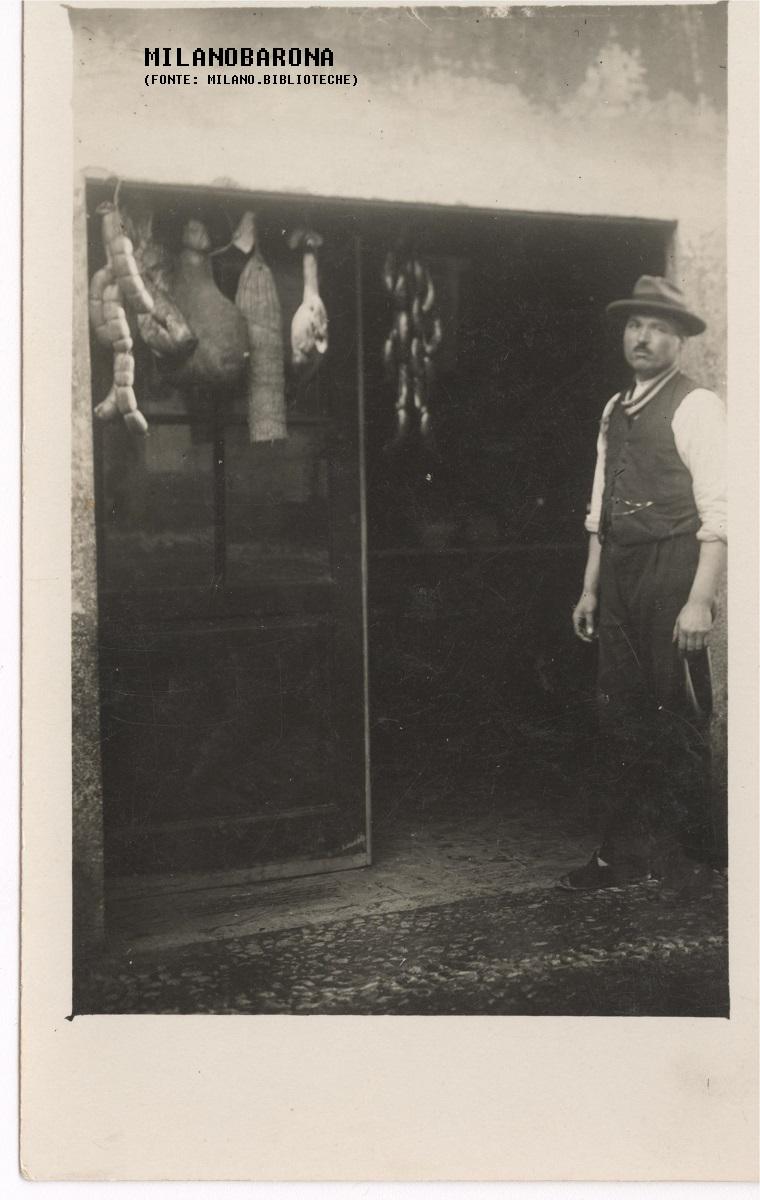 Villapizzone 1928. Via Fusinato 2, posteria di Mauro Brioschi . milano.biblioteche
