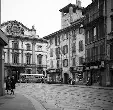 Via Nirone-Corso Magenta 1960 circa, Palazzo Litta (FPmag)