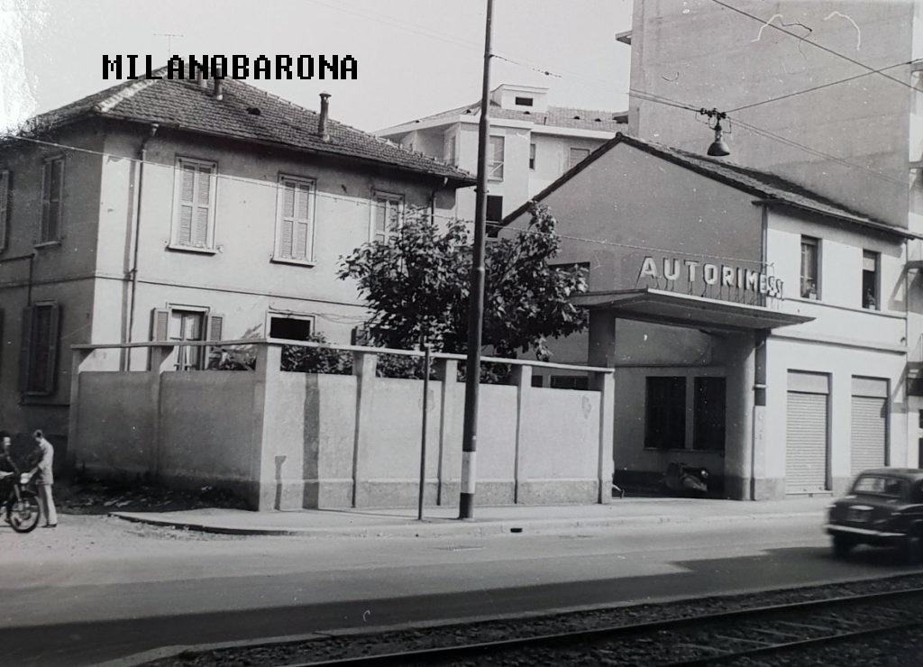 Affori 1956. Via Pellegrino Rossi, numerob civico 46. (fonte immagine: web fratellirossi)