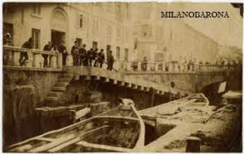Milano 1900 circa. Porta Venezia. Via Senato-Corso Venezia. (fonte: web fotografieincomune)