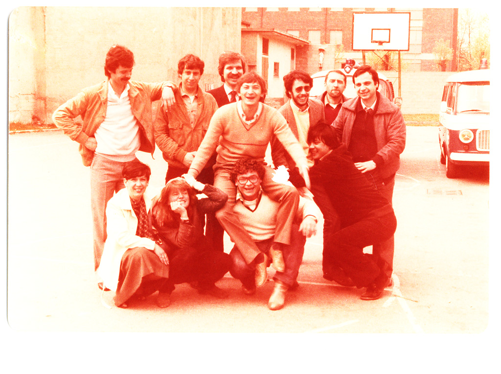 Vialba primi anni '80. Volontari Croce Bianca Vialba (web crocebiancavialba)