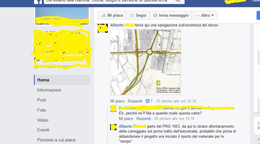 Errori Pagine Facebook dedicate Storia Barona